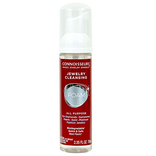CONNOISSEURS Cleansing Foam Jewelry Cleaner, Red