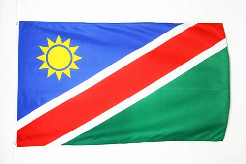 AZ FLAG Flagge Namibia 150x90cm - Republik Namibia Fahne 90 x 150 cm - flaggen Top Qualität