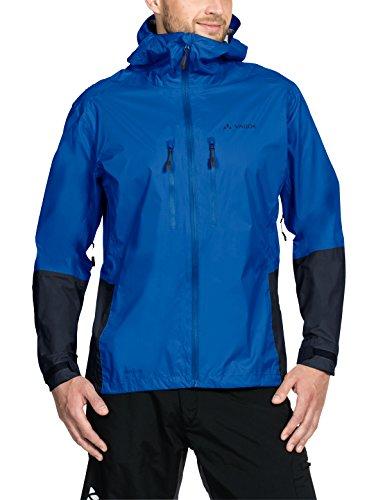 VAUDE Herren Tremalzo Rain Jacket II Jacke, Hydro Blue, L