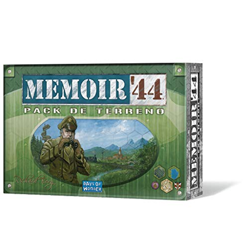 Days of Wonder- Memoir 44: Pack de Terreno - Expansión - Español, Color (DOW7382)