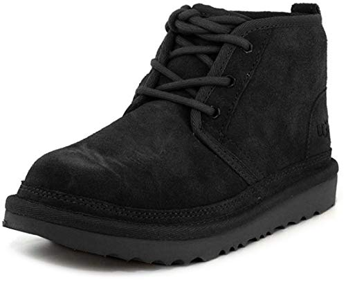 UGG unisex child Neumel Ii Boot, Black, 4 Big Kid US