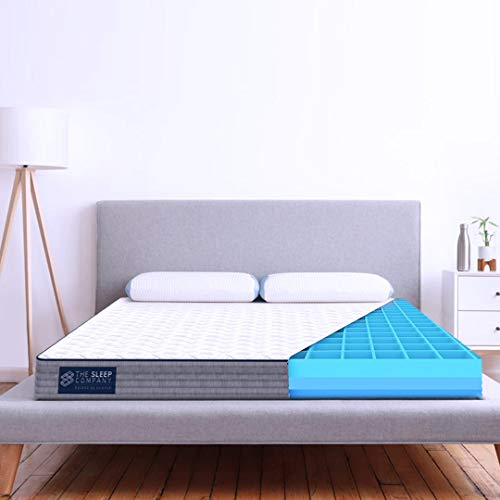 The Sleep Company SmartGRID Comfort 6' Mattress Single Bed - 72x36x6