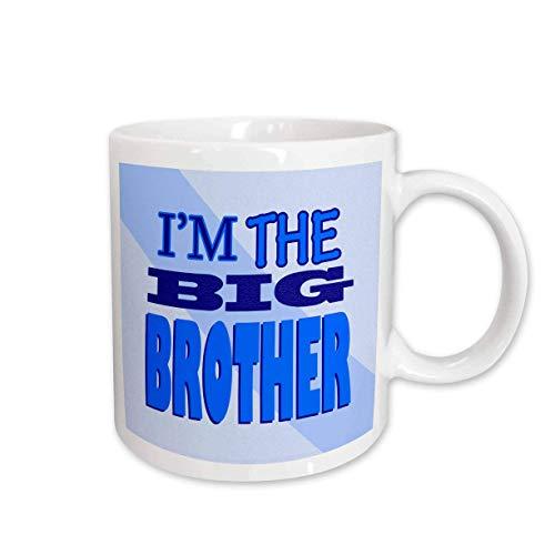 NA Taza de cerámica Azul Im The Big Brother
