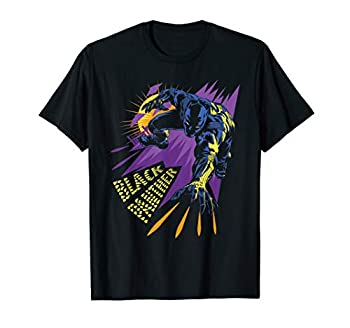 Marvel Black Panther Claw Marks Comic T-Shirt