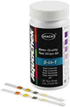 Hach 2755250 5 in 1 Water Quality Test Strips
