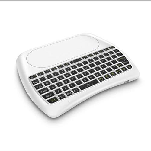 GMWZ Backlit Bluetooth Keyboard, Super 2.4G Wireless Mini Keyboard Air...