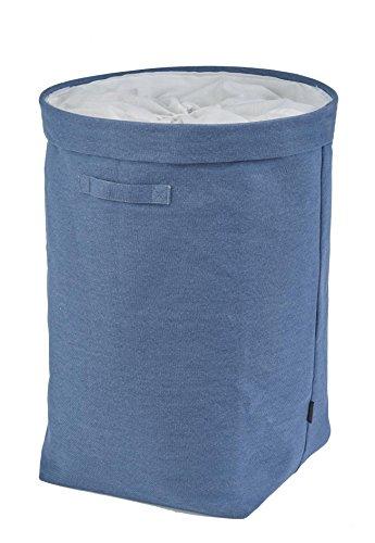 Wäschekorb Wäschesack Tur Aquanova, Farbe:Blau Denim
