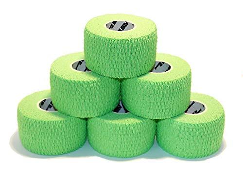NOSECOND 6 x Pack Tape Premium de algodón elástico Adhesivo de...