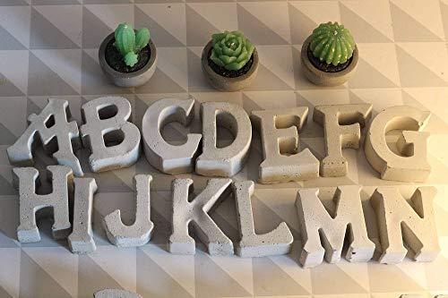 Beton Buchstaben | Tischdeko | Wunschname | Familien- & Firmenname