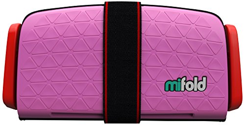 mifold Grab and Go Booster® silla de coche rosa perfect pink