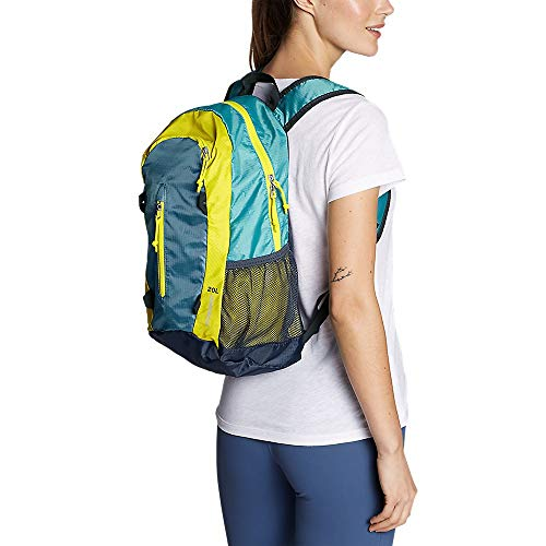 Eddie Bauer Stowaway Packable 20L Daypack, Bright Blue ONE SIZE