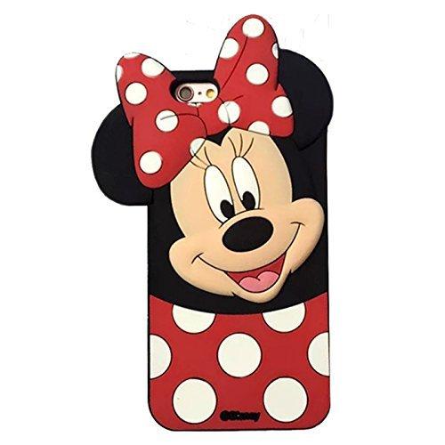 Coover Funda de Gel Forma Minnie Mouse Huawei P20 Carcasa 3D Silicona Flexible para Huawei P20 (5,8 Pulgadas)