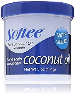 Softee Coconut Oil Hair & Scalp Conditioner - 5oz