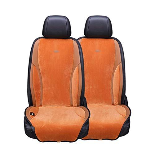 SHENRQIA Sitzheizung Auto Heizkissen Heizauflagen Heizung für Sitz & Rücken Überhitzungsschutz 12V 24V