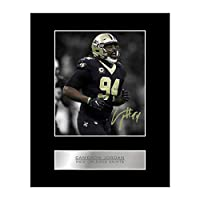 Cameron Jordan Signed Mounted Photo Display New Orleans Saints #05 NFL Printed Autograph Gift Picture Print