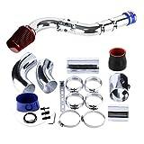 VerRich Filtro aria motore auto Sistema di aspirazione aria fredda universale in alluminio 76mm e 63mm