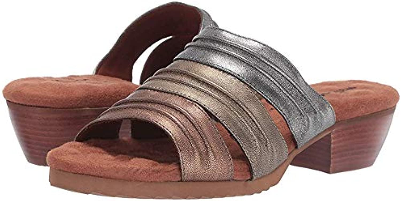 Walking Cradles Womens Colleen Metallic Multi Leather 9.5 M (B)
