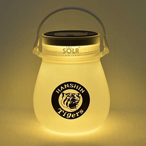 阪神タイガース ソーラーランタン SOLR LANTERN minipod Warm White LEDシリーズ