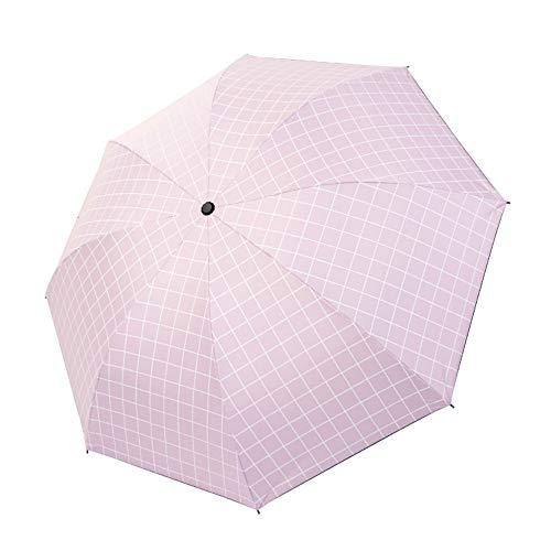 Paraguas sombrilla Protector Solar Anti-Ultravioleta pequeño Paraguas Negro Hembra Paraguas Soleado Coreano de Doble Uso