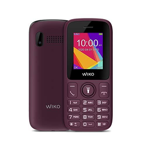 Wiko F100 Téléphone portable débloqué 2G (Ecran: 1,8 pouces - Batterie 800 mAh - Double mini-SIM) Purple
