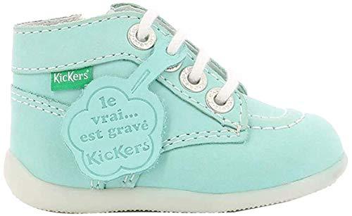 Kickers Bonzip, Botas y botines unisex para niños, (azul oscuro), 19 EU