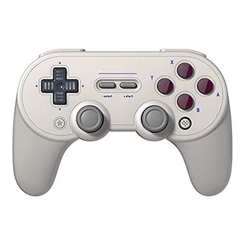 Gamepad Gamepad contrôleur de jeu Bluetooth sans fil peut être utilisé for les ordinateurs portables et les téléphones mobiles Wireless Gamepad ( Couleur : Dark gray , Size : 15.36x10.27x6.43cm )