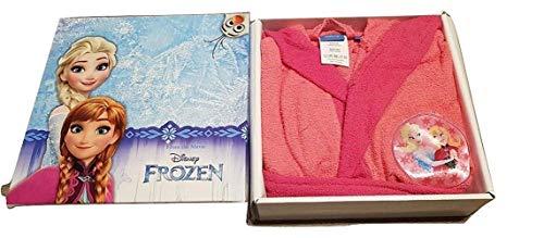 Sfiziosa albornoz niña Frozen color fucsia talla 2/3 años