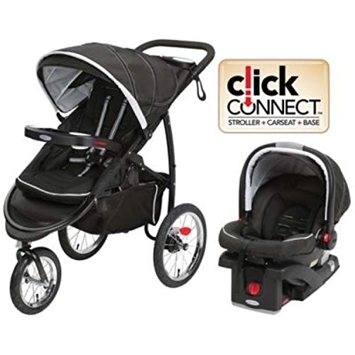 Graco FastAction Fold Jogger XT Travel System | Includes the...