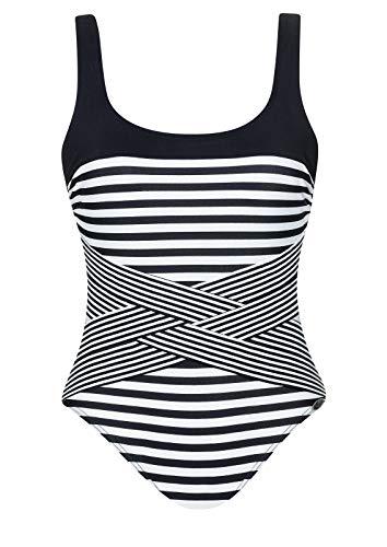 Sunflair Badeanzug Basic schwarz 46 C
