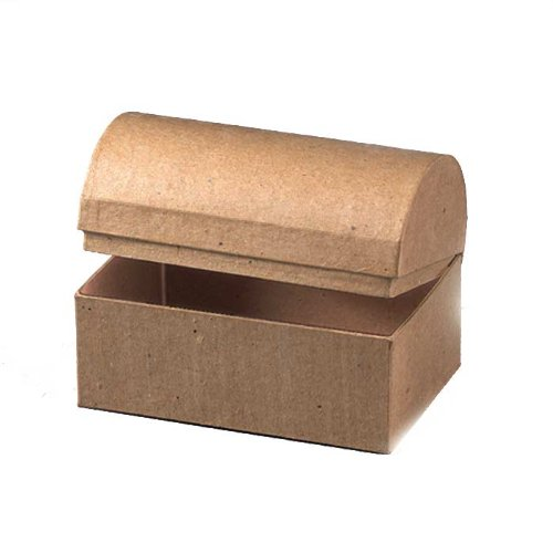 Papp Art Schatztruhe verschiedene Größen(15 x 10 x 10,5 cm)
