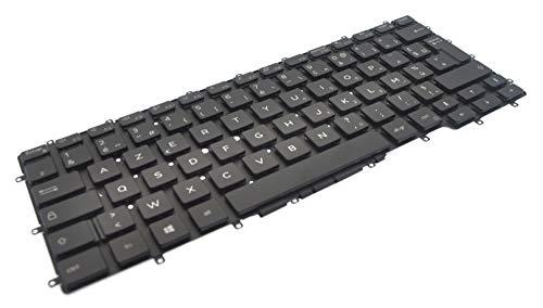 Dell Latitude 7400 2-in-1 & Latitude 9410 French AZERTY Backlit Keyboard JXFP7