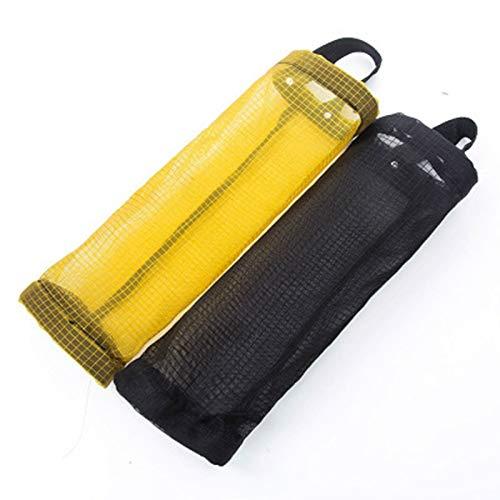 OVBBESS Bolsa de almacenamiento de plástico, caja de almacenamiento de Sundries, bolsa de clasificación, extraíble montado en la pared