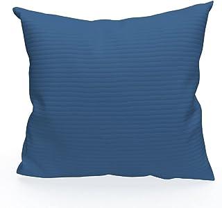 Funda de cojín 40 x 40 cm LÉO Azul