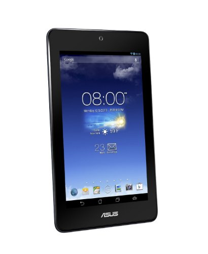 Asus MeMO Pad HD 7 17,8 cm (7 Zoll) Tablet-PC (ARM MediaTek MT8125, 1,2GHz, 1GB RAM, 16GB HDD, SGX 544, Android OS) dunkelblau