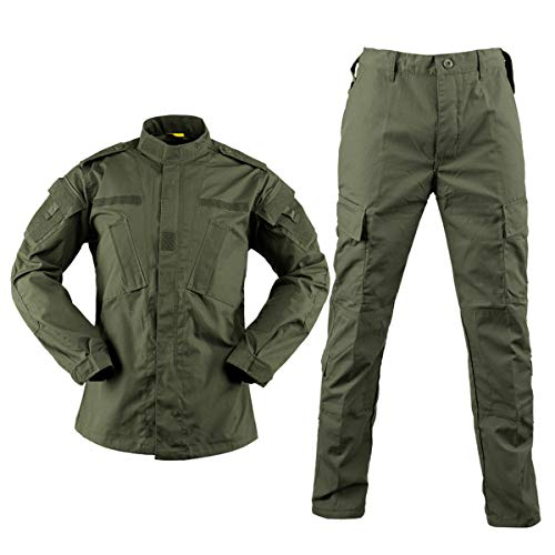 QMFIVE Uniformes tácticos Camuflaje Camo Camo Combat...