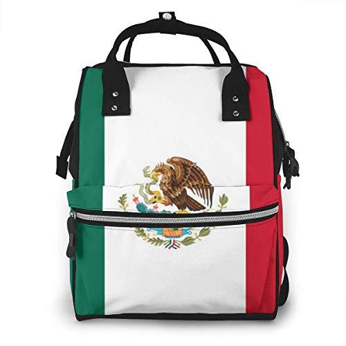Mexicaanse vlag luiertas mode waterdichte multi-functie reizen rugzak grote luierzakken mama rugzak voor babyverzorging