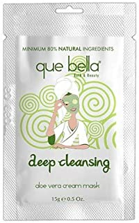 Que Bella Deep Cleansing Aloe Vera Face Mask