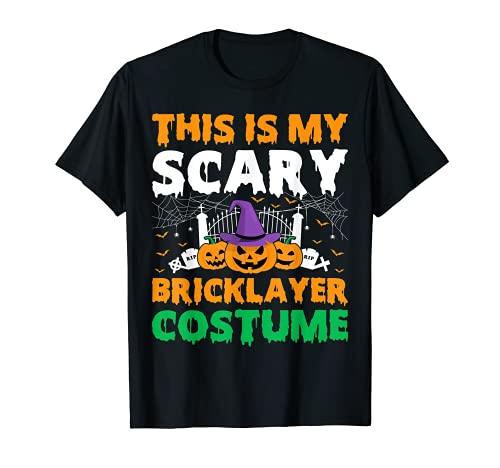 Divertido disfraz de albail de Halloween Camiseta