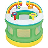 FHISD Casa Hinchable para niños Casa de Rebote de Castillo, Valla Inflable para niños de la Familia, Piscina de Juguete Desmontable Inflable para niños, Trampolín de