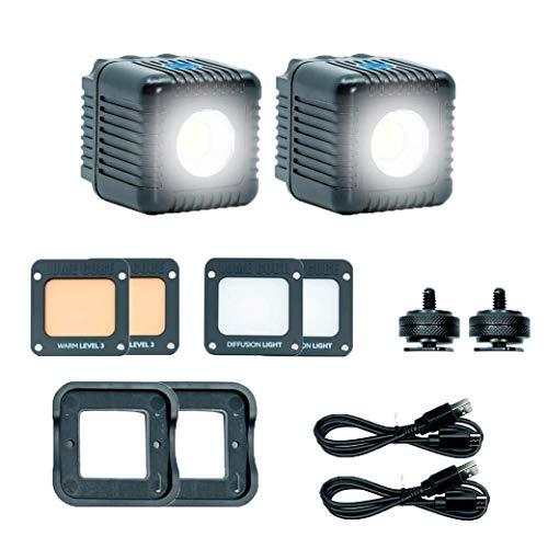 Lume Cube 2.0 Daylight Balanced LED für Foto & Video - Doppelpack