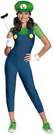 Luigi costumes for girls