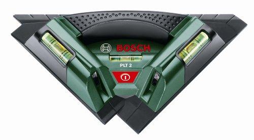 Bosch 0.603.664.000 Nivel láser para alicatados 1.5 V, Negro, Verde