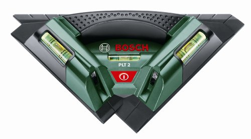 Bosch Home and Garden 0.603.664.000 Nivel láser para alicatados, 1.5 V, Negro, Verde