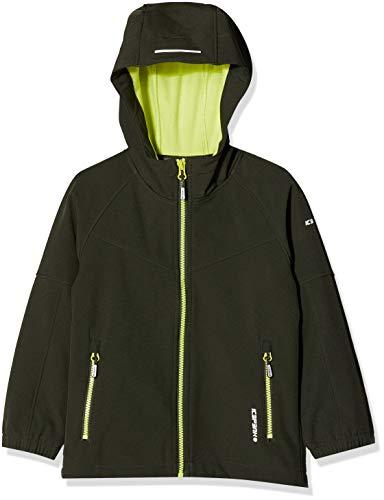 Icepeak Jungen KINROSS JR Softshell Jacke, grün, 152