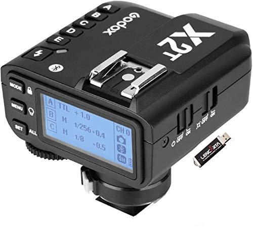 La sincronización de alta velocidad con el disparador remoto inalámbrico de 2.4GHz Godox X2T funciona con las versiones AD200, AD400, AD600 y Pro y la mayoría de los monolights compatibles con Olympus