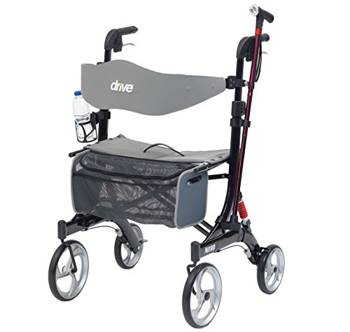 Drive Medical Nitro Rollator Accessory Pack - Fleshouder & Rietje/Stickhouder
