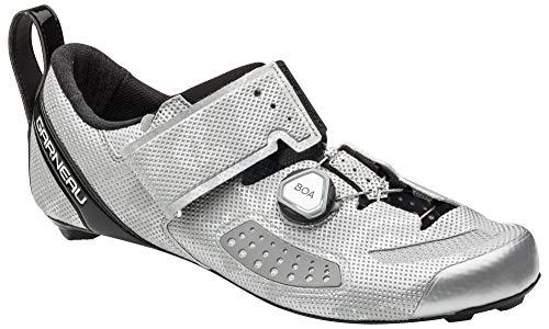 Louis Garneau, Men's Tri Air Lite Triathlon Bike Shoes, Camo Silver, US (9.5), EU (43)