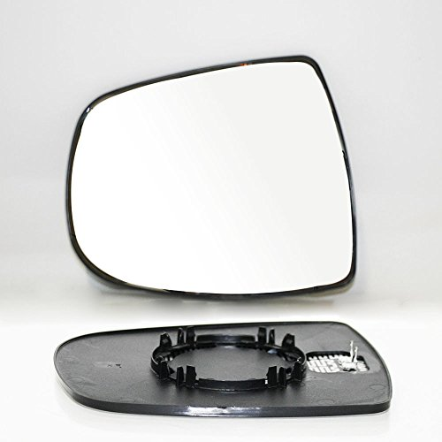 Miroir de r/étroviseur argent/é avec base LHS pour 207 /à partir de 2006 OEM 8151KS