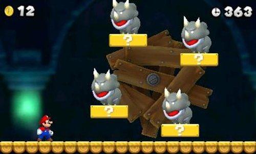 『New スーパーマリオブラザーズ 2 - 3DS』のトップ画像