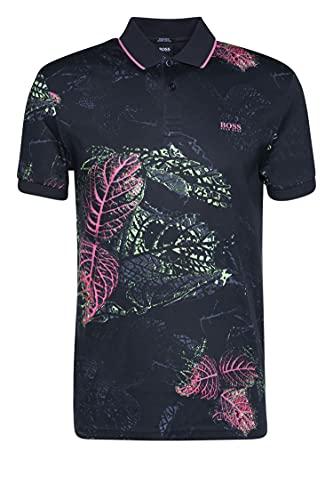 BOSS Paddy 6 Camisa de Polo, Negro1, M para Hombre
